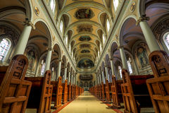 ST 保罗的大教堂教区(多伦多) 库存照片