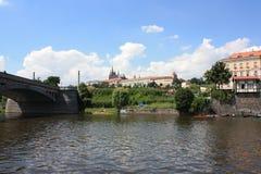 St维塔教会在布拉格 库存图片