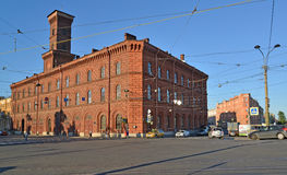 ST 彼得斯堡俄国 俄罗斯联邦的圣彼德堡大学内务部 免版税库存照片