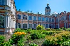ST 彼得斯堡,俄罗斯- 2015年6月:修道院 免版税图库摄影