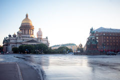 St以撒大教堂在圣彼德堡 免版税库存图片