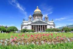 St以撒大教堂-圣彼德堡,俄罗斯 免版税库存照片