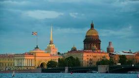 St以撒的大教堂和其他历史大厦 俄国 影视素材