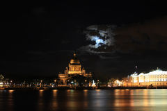 St.以撒的大教堂,圣彼得堡,俄罗斯 库存照片