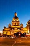St以撒` s大教堂,圣彼德堡 免版税库存图片