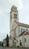 St.约翰尼斯Nepomuk天主教教会, Kehl,德国 库存照片