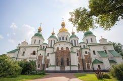 St.索菲娅大教堂在基辅。 库存图片