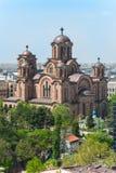 St.马尔科教会在贝尔格莱德 免版税库存图片