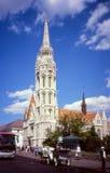 St.马赛厄斯教会在布达佩斯。 免版税图库摄影