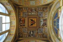 偏僻寺院博物馆宫殿彼得斯堡st冬天 库存照片