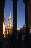 St马丁在这域教会,伦敦 库存照片