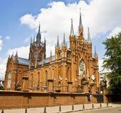 大教堂宽容玛丽・莫斯科st 免版税库存照片