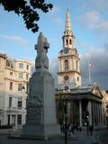 St马丁在这领域,伦敦 免版税库存图片