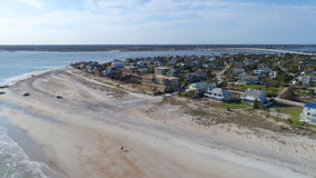 St aéreo Augustine Beach FL de la imagen Fotografía de archivo