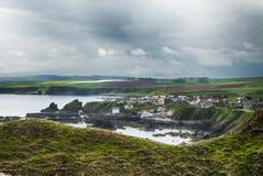 St Abbs,苏格兰 免版税图库摄影