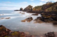 St Abbs,苏格兰 免版税库存照片