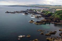 ST Abbs στη Σκωτία (παράκτια σκηνή) Στοκ Φωτογραφίες