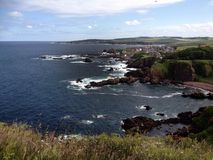 St Abbs, Firth of Forth, Scotland Stock Photo