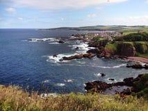 St Abbs Firth van vooruit Stock Afbeeldingen