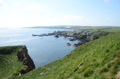 St. Abbs Head Bay Stock Photo