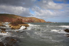St Abbs Head, Berwickshire, Scotland Stock Photos