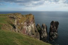 St Abbs, Northumberland  and Scottish Borders Royalty Free Stock Images