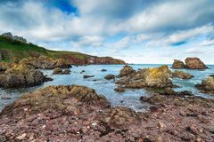 St Abbs in Scotland royalty free stock images