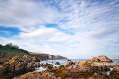 St Abbs, Scozia Immagini Stock