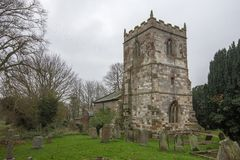 St Adelwolds Church stock photos