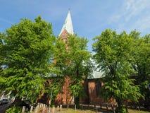 St Aegidien church in Luebeck Stock Photos
