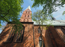 St Aegidien church in Luebeck Royalty Free Stock Photo