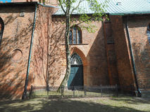 St Aegidien church in Luebeck Royalty Free Stock Images