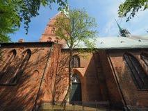 St Aegidien church in Luebeck Stock Photo