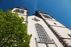 St. Aegidien Church Oschatz Royalty Free Stock Image