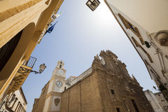 St. Agata Cathedral in Gallipoli, Puglia, Southern Italy Stock Photo