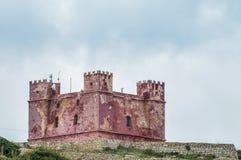 St. Agatha的塔在马耳他 库存图片
