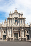 St. Agatha Cathedral in Catania Stock Photos