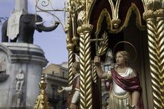 St Agatha Feast Royalty Free Stock Photo