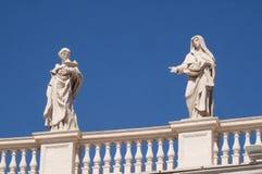 St Agatha i St Elizabeth Portugalia Zdjęcie Royalty Free