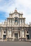 St Agatha katedra w Catania Zdjęcia Stock