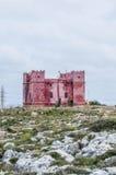 St. Agatha's wierza w Malta Zdjęcie Royalty Free