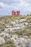 St. Agatha's wierza w Malta Zdjęcia Royalty Free