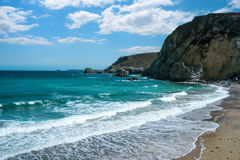 St Agnes Bay Cornwall Image stock