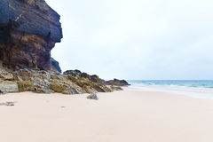 St Agnes beach, Cornwall, England Stock Photo