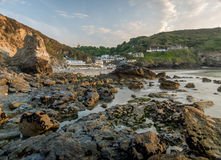 St Agnes beach Stock Photo