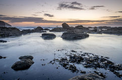 St Agnes beach Stock Photography