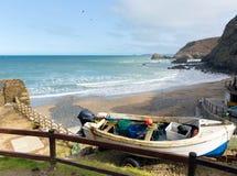 St Agnes beach Cornwall England UK Royalty Free Stock Photo