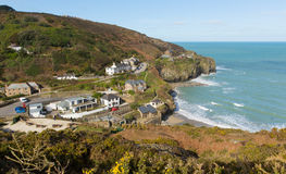 St Agnes beach North Cornwall England UK Royalty Free Stock Photography