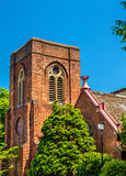 St. Agnes Cathedral, a Christian church in Kyoto Royalty Free Stock Photo