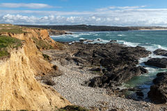 The st Agnes coast Stock Photography
